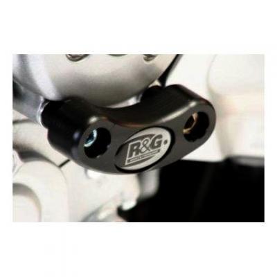 Slider moteur gauche R&G Racing noir Yamaha FZ1 06-15