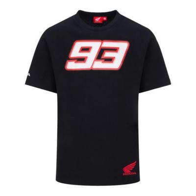 Tee-shirt Dual Honda Marc Marquez 93 noir