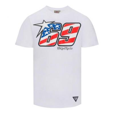 Tee-shirt Nicky Hayden 69 blanc