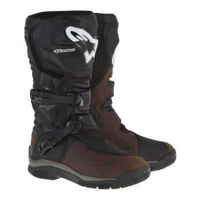 Bottes Alpinestars COROZAL Adventure Waterproof marron/noir
