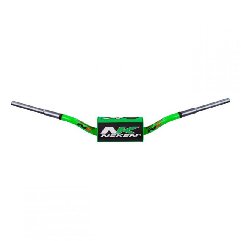 Guidon à diamètre variable Neken SFH Design Conique K-Bar vert/noir