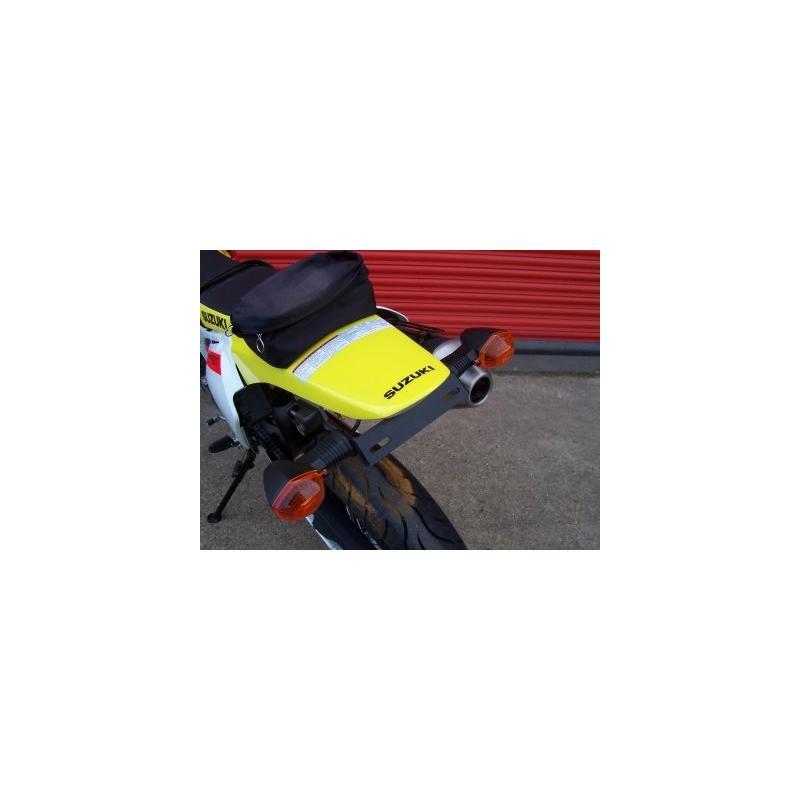 Support de plaque d'immatriculation R&G Racing noir Suzuki DR-Z 400 05-08