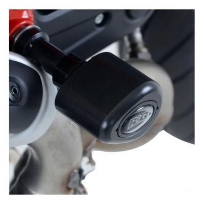 Tampons de protection R&G Racing Aero noir Ducati Monster 797 17-18
