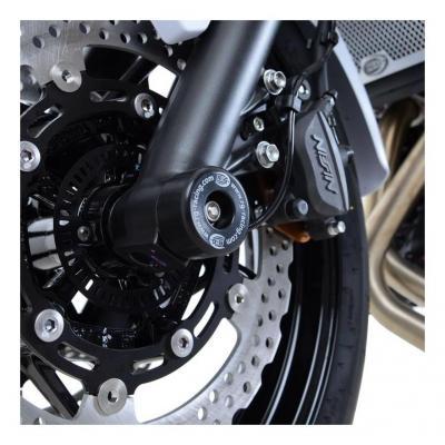 Tampons de protection de fourche R&G Racing noirs Triumph Speed Triple 05-10