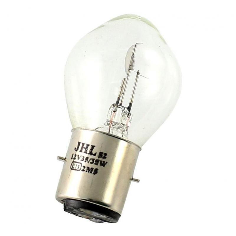 Ampoule BA20D à iode 12V 35-35
