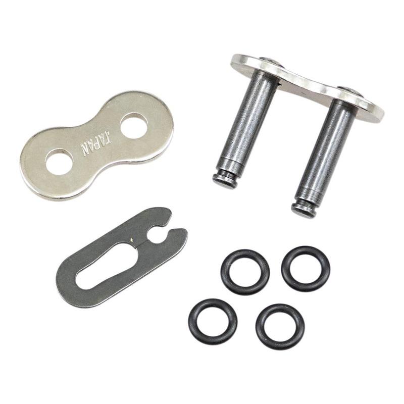 Attache rapide Drag Specialties pas 530 chromée à clip avec joints toriques