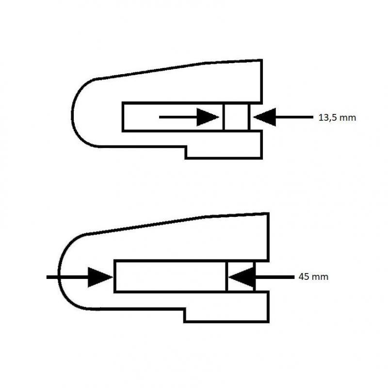 Bloque disque Abus Granit Detecto 8077 noir avec alarme - 1