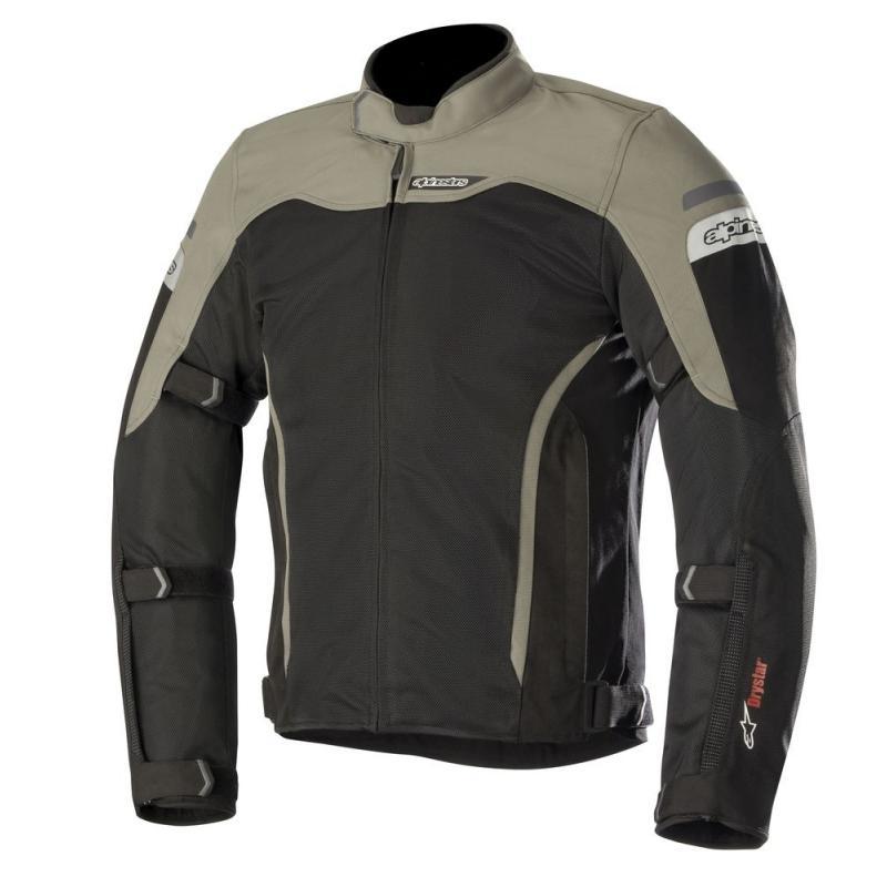 Blouson textile Alpinestars LEONIS DRYSTAR AIR noir / kaki