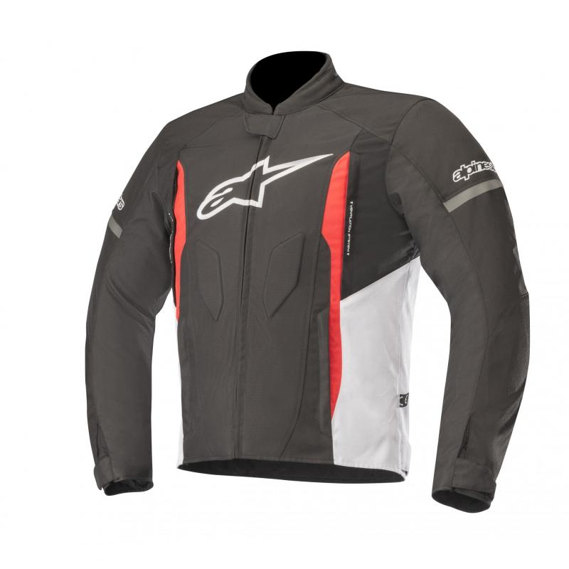 Blouson textile Alpinestars T-Faster noir/blanc/rouge