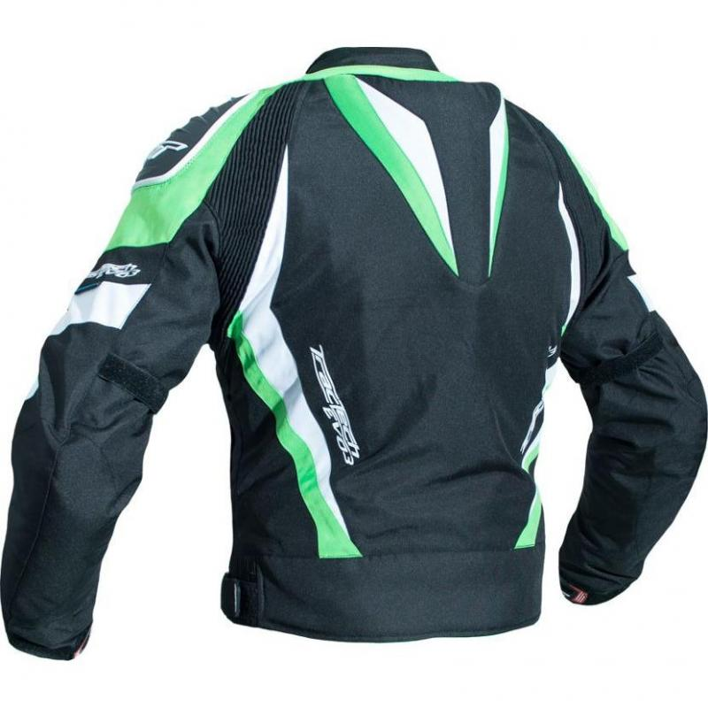 Blouson textile RST Tractech Evo 3 vert - 1
