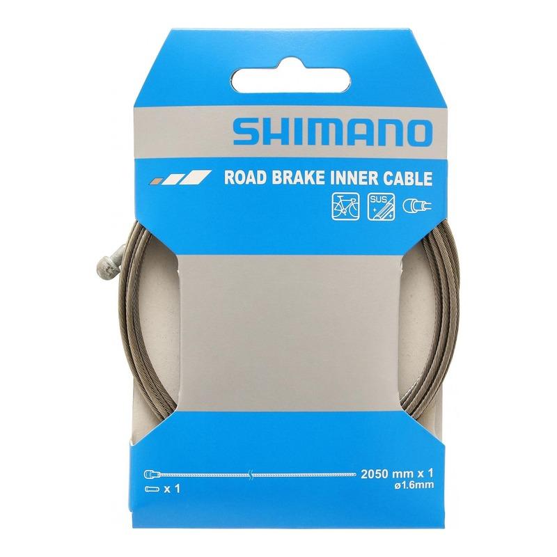 Câble de frein route Shimano SUS Ø1,6mm x 2,05m