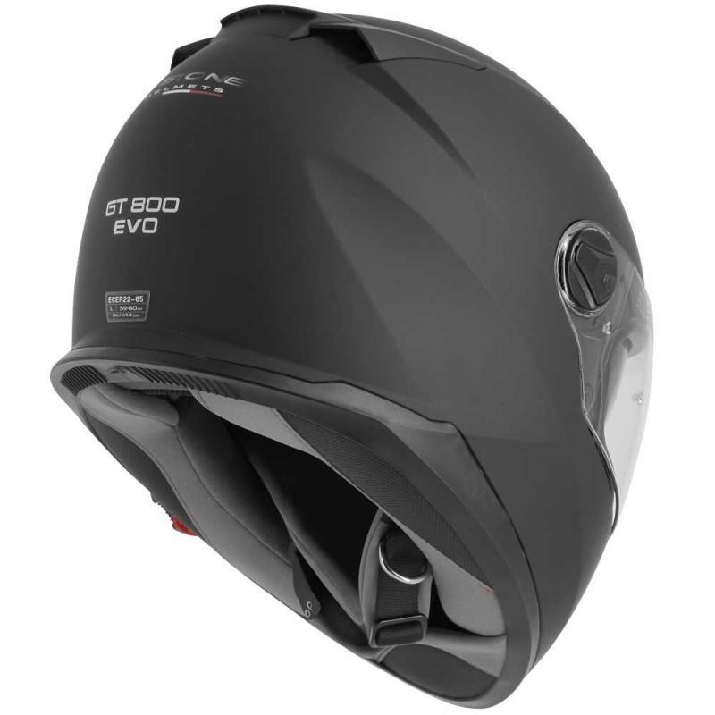 Casque intégral Astone GT800 EVO Solid noir mat - 4