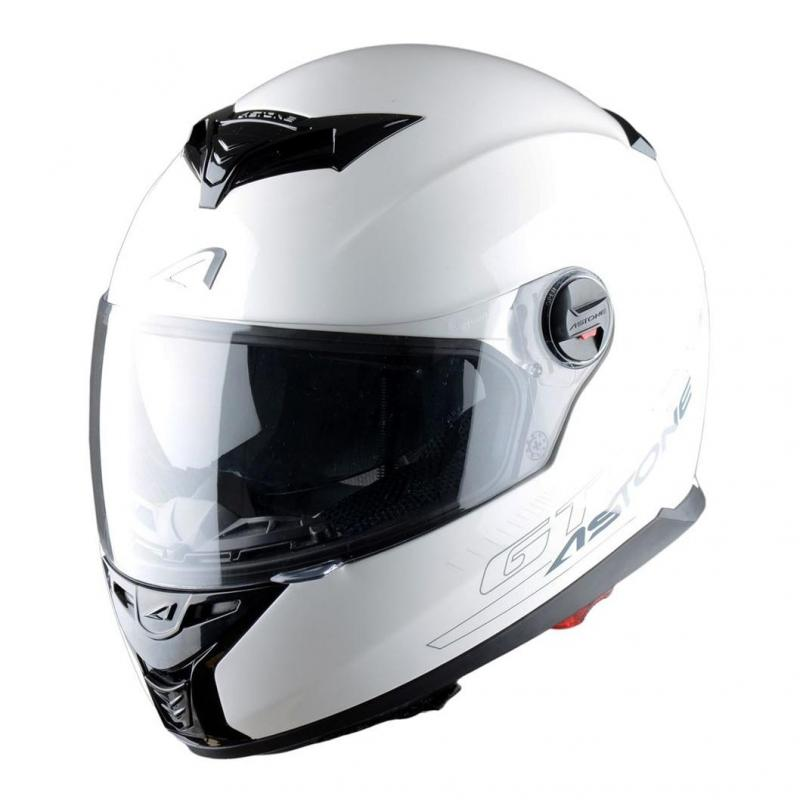 Casque Intégral Astone Gt800 Solid Exclusive blanc
