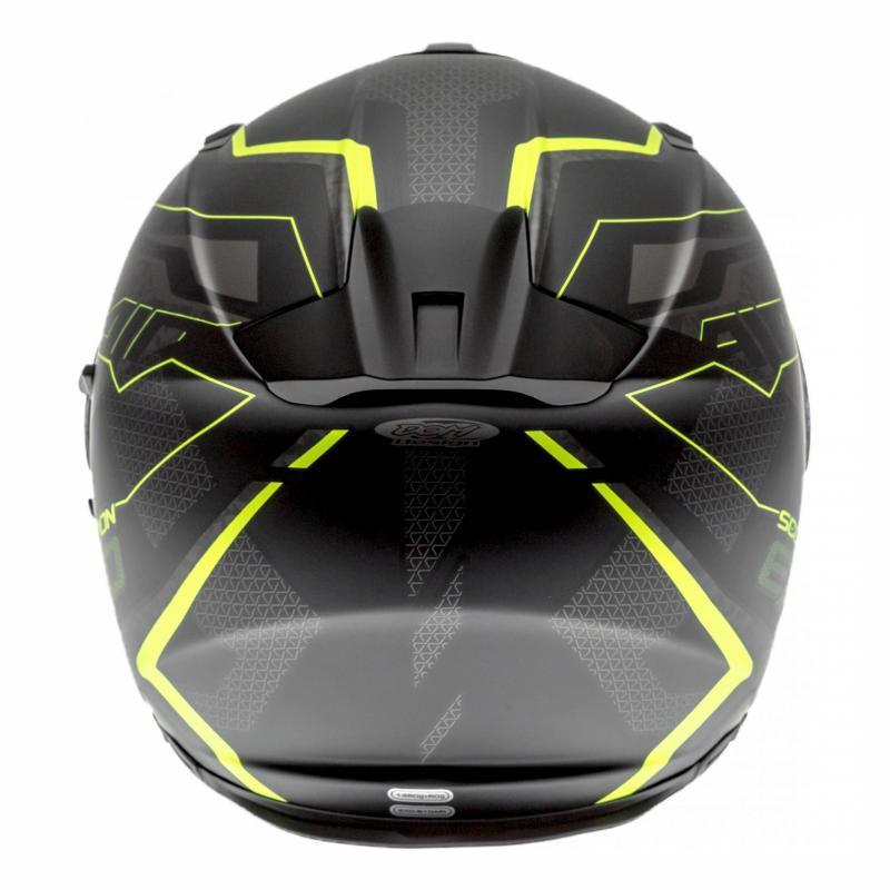 Casque intégral Scorpion EXO-510 AIR Galva noir mat/jaune fluo - 4