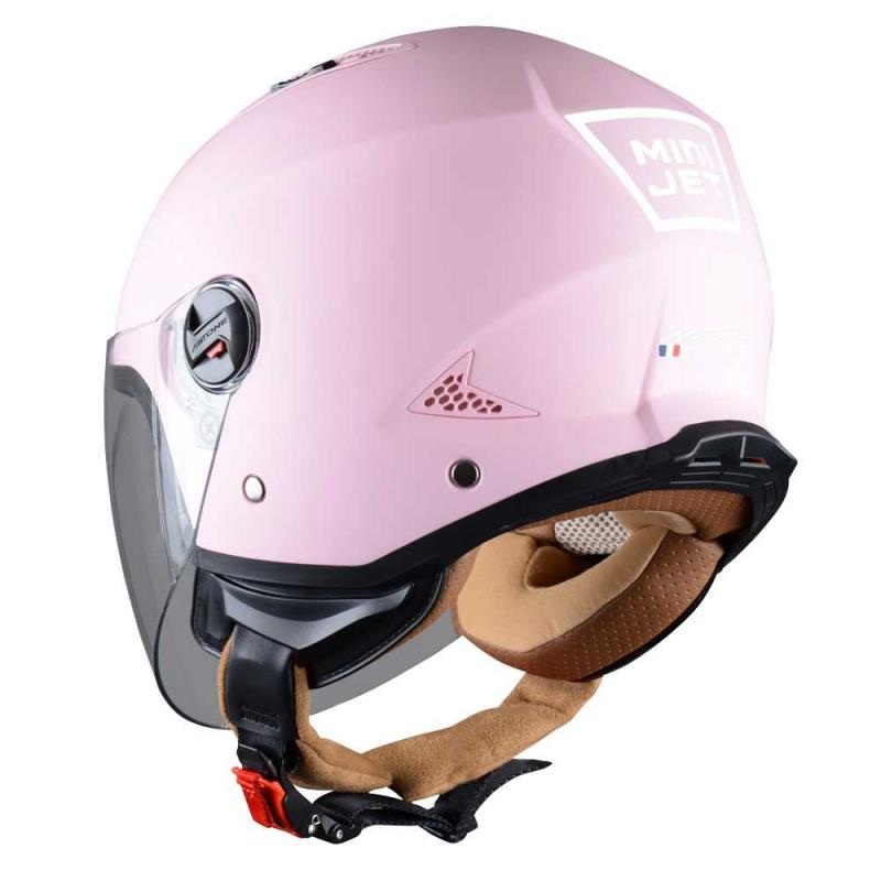 Casque Jet Astone Minijet Monocolor Flamingo - 1
