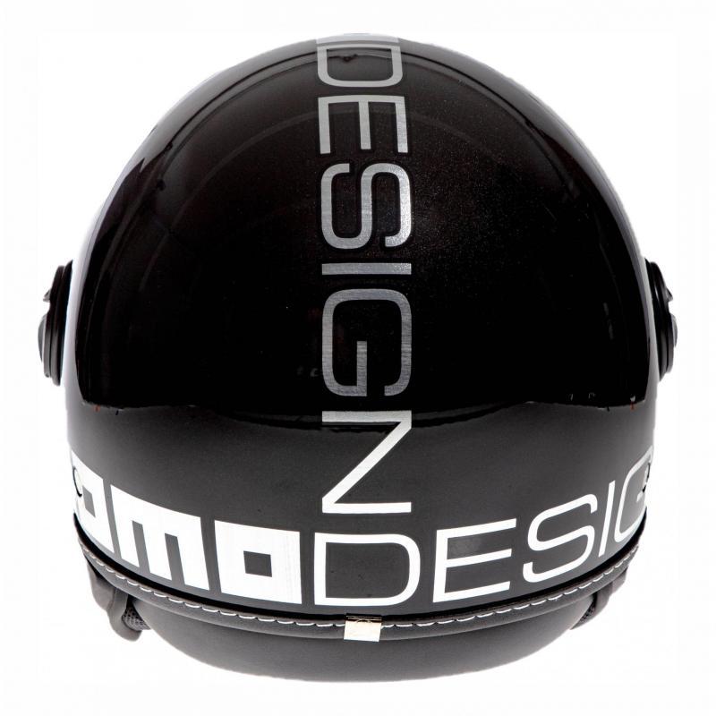 Casque jet Momo Design FGTR EVO noir métal/chrome - 4