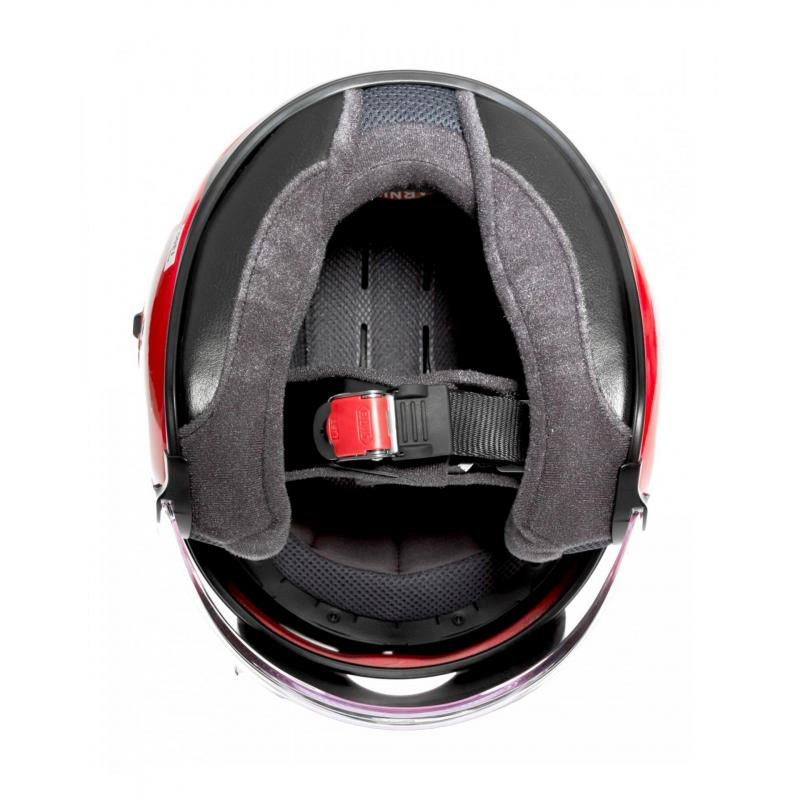 Casque jet Shoei J-Cruise rouge brillant - 5