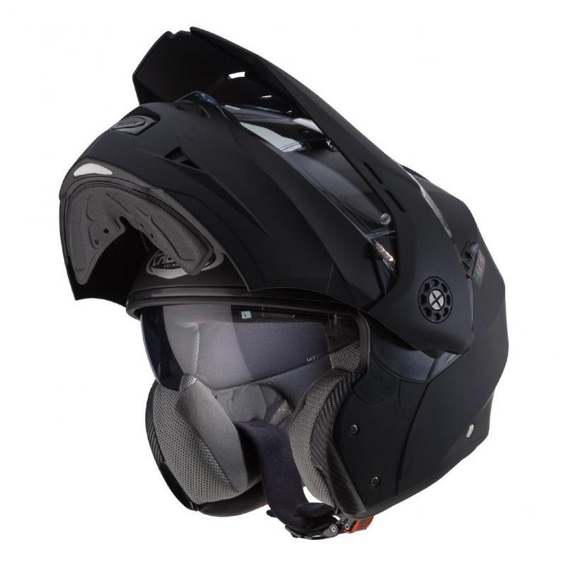 Casque modulable Caberg Tourmax Uni noir mat - 1