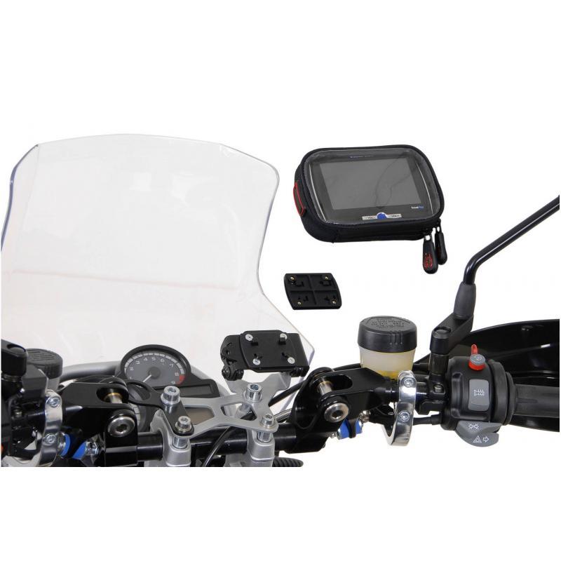 Clip adaptateur SW-MOTECH pour GPS noir - 4