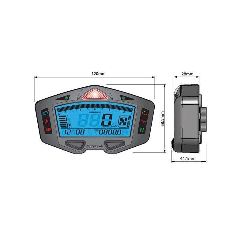 Compteur Koso Digital DB-03R - 1