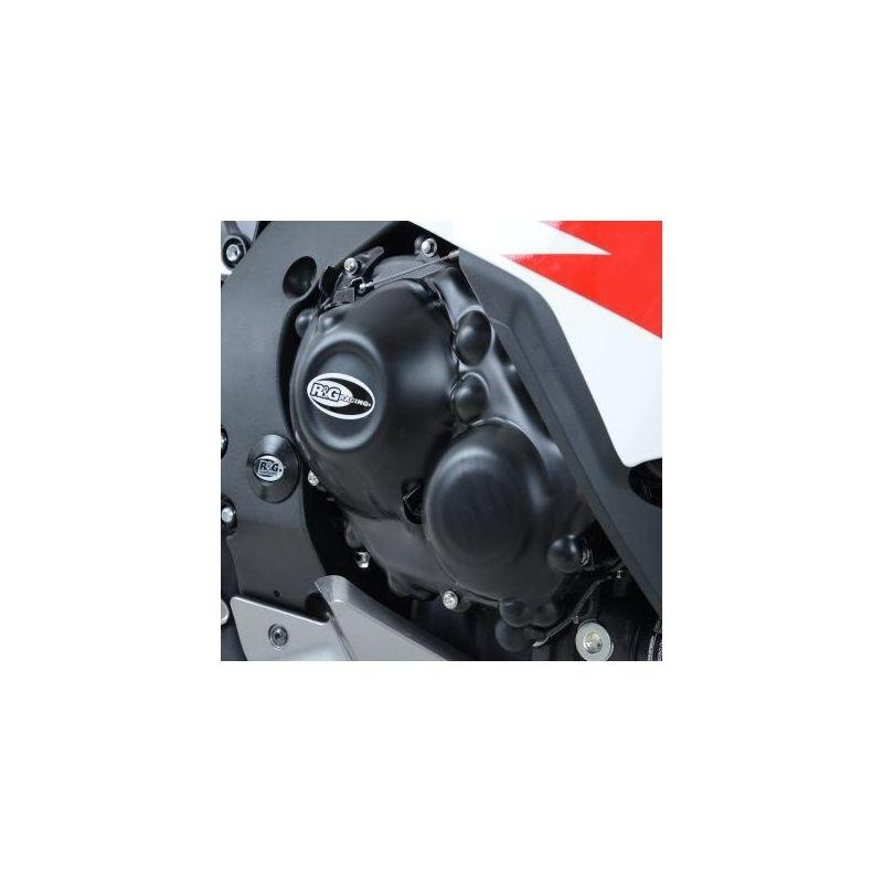 Couvre carter d'embrayage R&G Racing noir Honda CBR 1000 RR 08-16