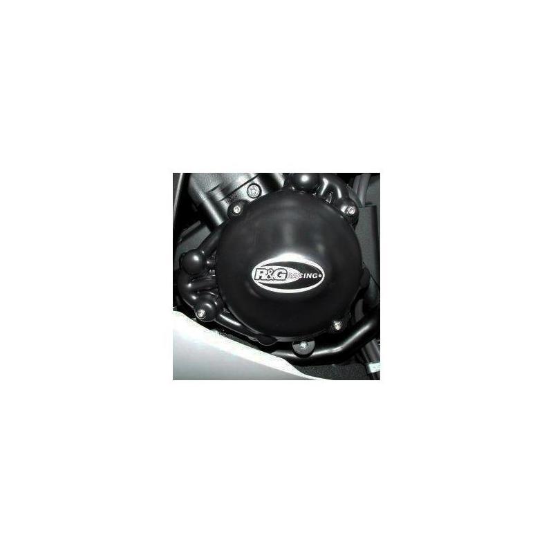 Couvre carter gauche R&G Racing noir Yamaha YZF-R1 09-14