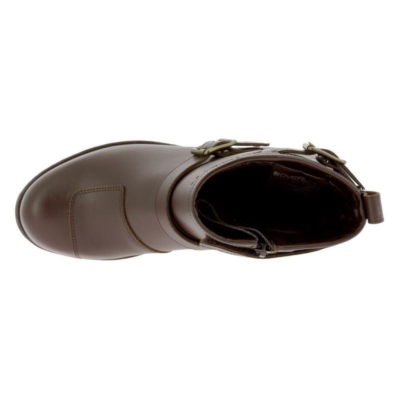 bottes femme Demi ROCK Overlap marron 3qcR54AjLS