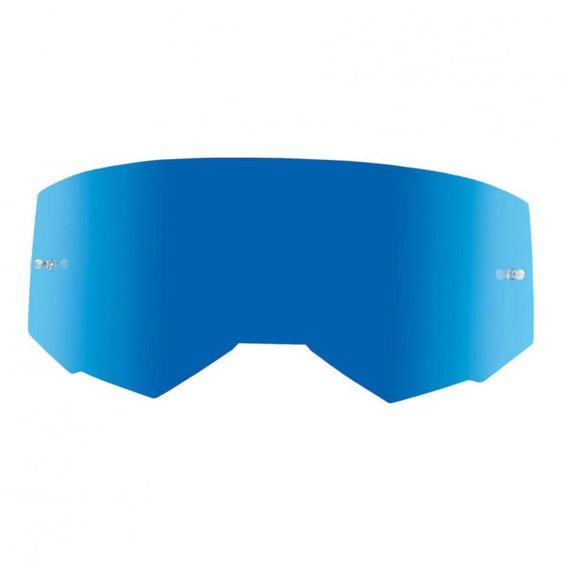 Écran Fly Racing pour masque Zone, Zone Pro et Focus miroir bleu/fumé