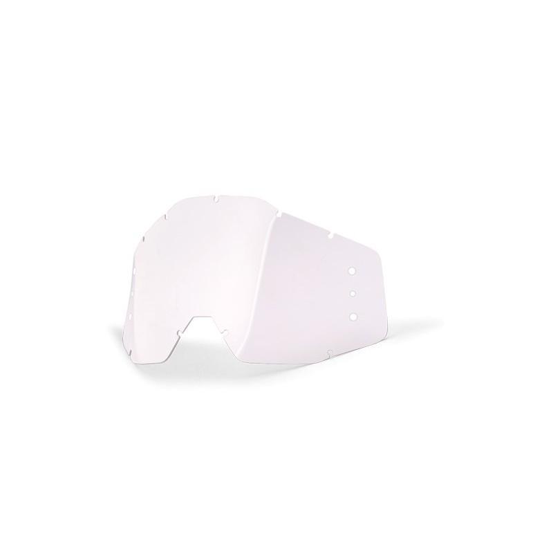 Ecran masque cross 100% Accuri Roll-off clear BUMPS