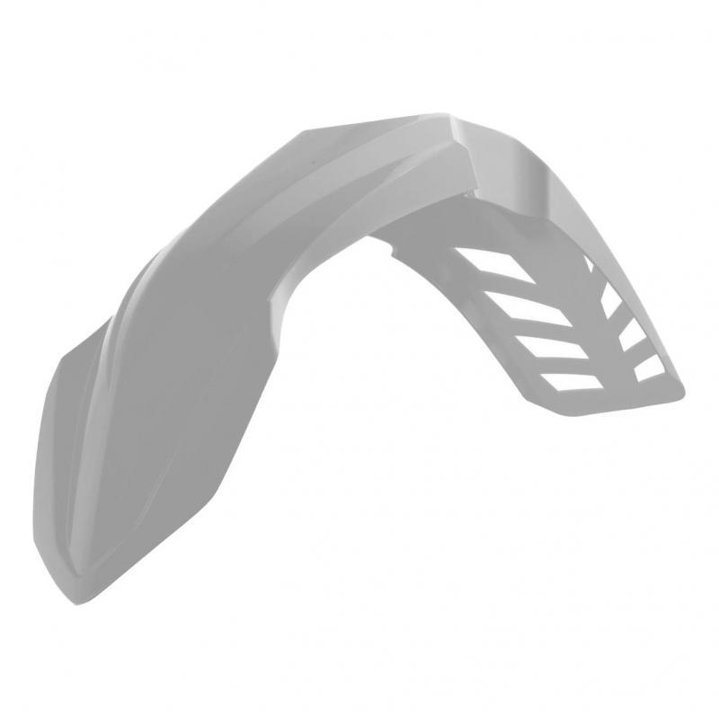 Garde boue avant ventilé RTech blanc pour Yamaha YZ 125 02-16