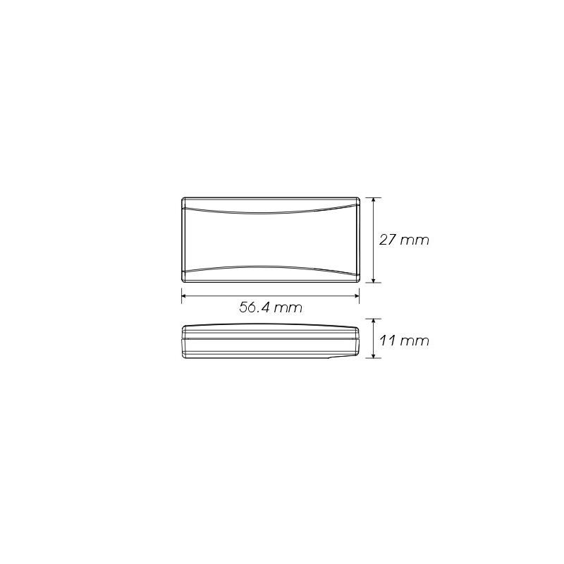 indicateur de température Koso Super Slim - 2