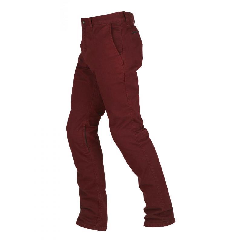 Jeans moto Furygan Berny rouge brique - 1