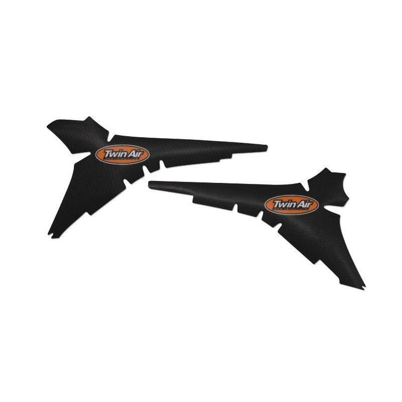 Kit déco boîte à air anti-dérapant Twin Air Noir pour Kawasaki KX 250 F 13-16
