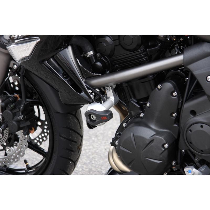 Kit fixation tampon de protection LSL Kawasaki ER-6 N 09-11
