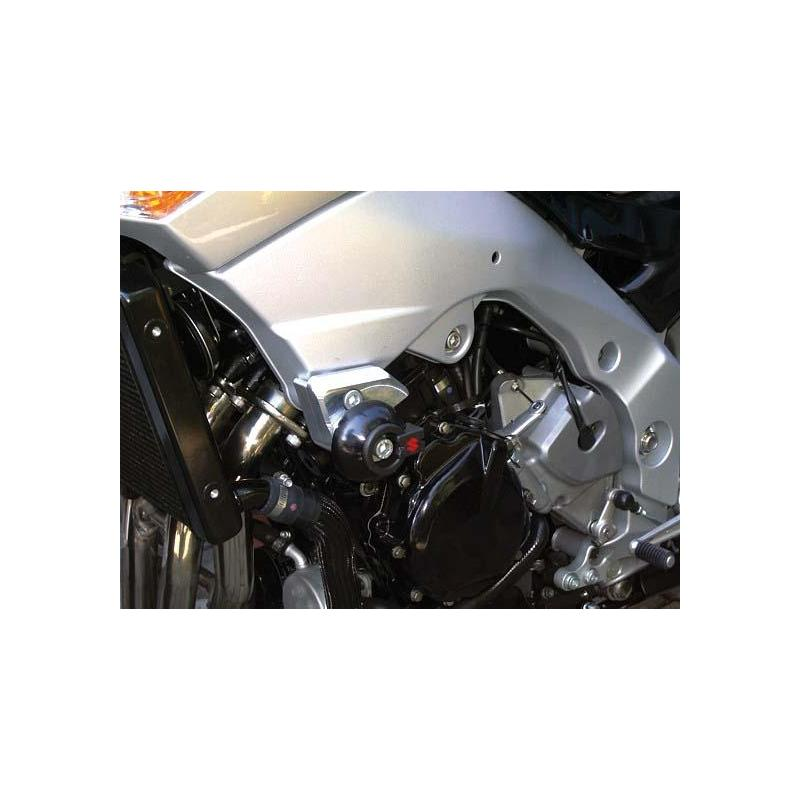 Kit fixation tampon de protection LSL Suzuki GSR 600 06-11 avec support