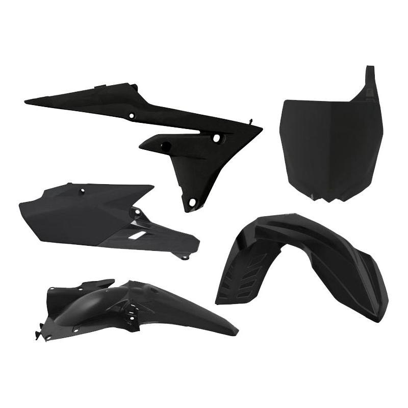 Kit plastique RTech Yamaha 250 YZ-F 14-18 noir