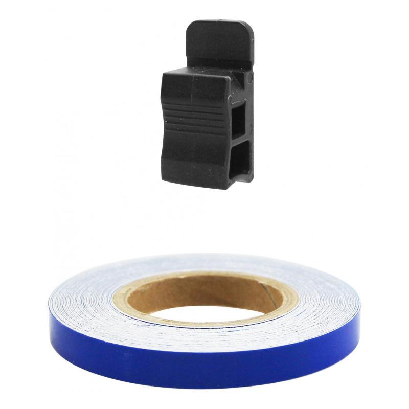 Liseret de jante Tun'R 7mm x 6m bleu avec applicateur - 2
