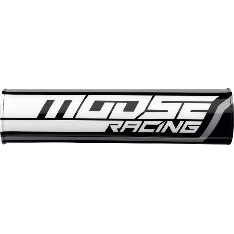Mousse de guidon avec barre de renfort Moose Racing 23,5cm noir/blanc/gris