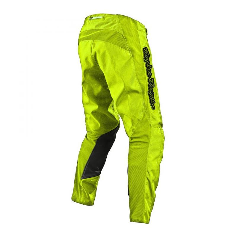 Pantalon cross Troy Lee Designs GP Air Mono jaune fluo - 1