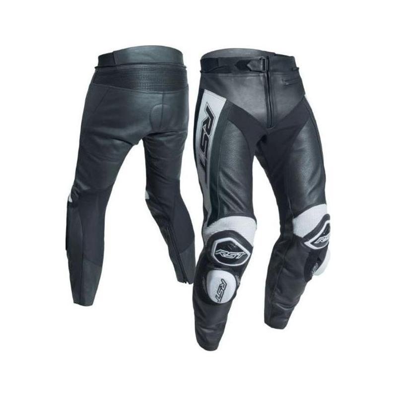 Pantalon cuir RST Tratech Evo R blanc - 1