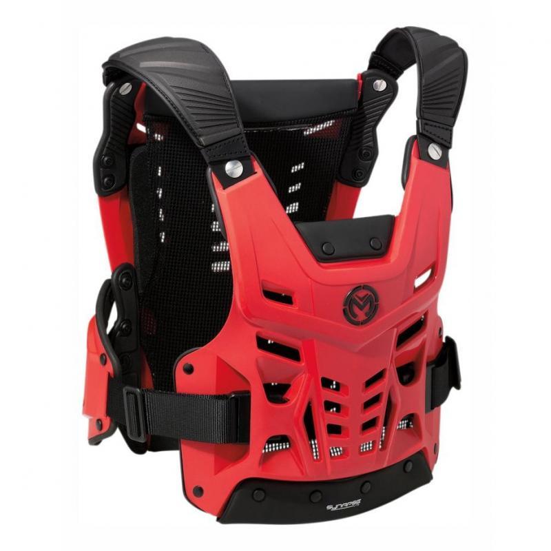 Pare-pierre Moose Racing Synapse Lite CE rouge/noir
