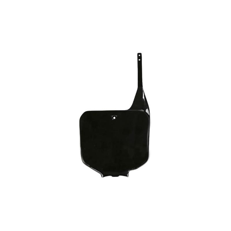 Plaque numéro frontale UFO Honda CR 125R 95-99 noir