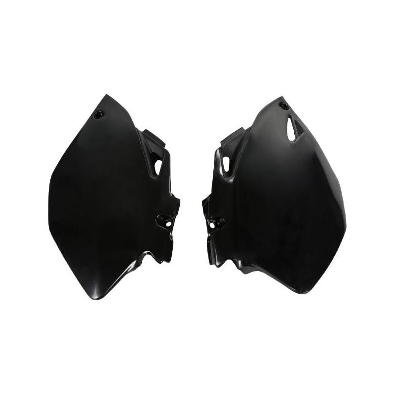 Plaque numéro latérale UFO Yamaha 450 YZ-F 06-09 noir