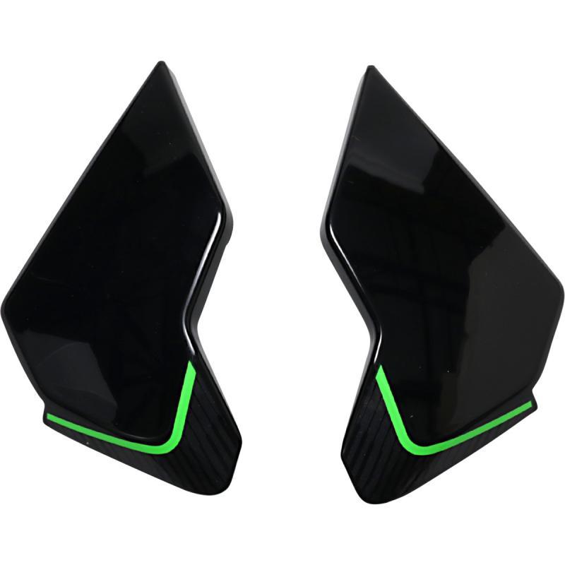 Plaques latérales Icon Airflite Raceflite vert