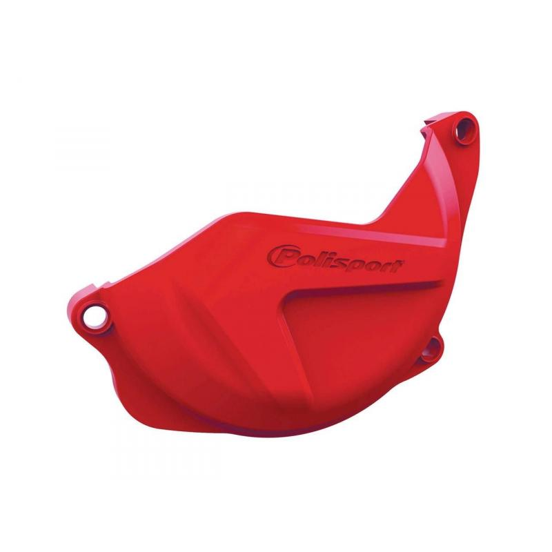 Protection de carter d'embrayage Polisport Honda CRF 450R 10-16 rouge