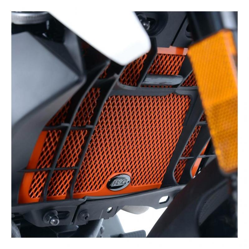 Protection de radiateur noire R&G Racing KTM Duke 125 11-18