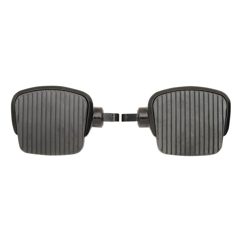 Repose pieds plateau mini Drag Specialties 4'' type mâle noir