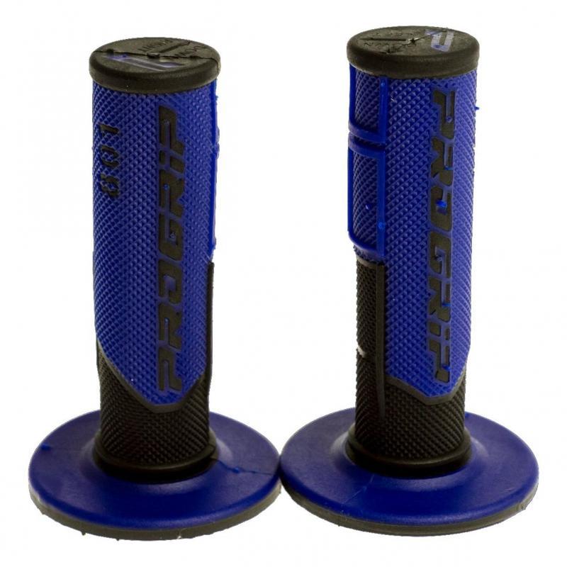 Revêtements de poignées 801 Progrip noir/bleu