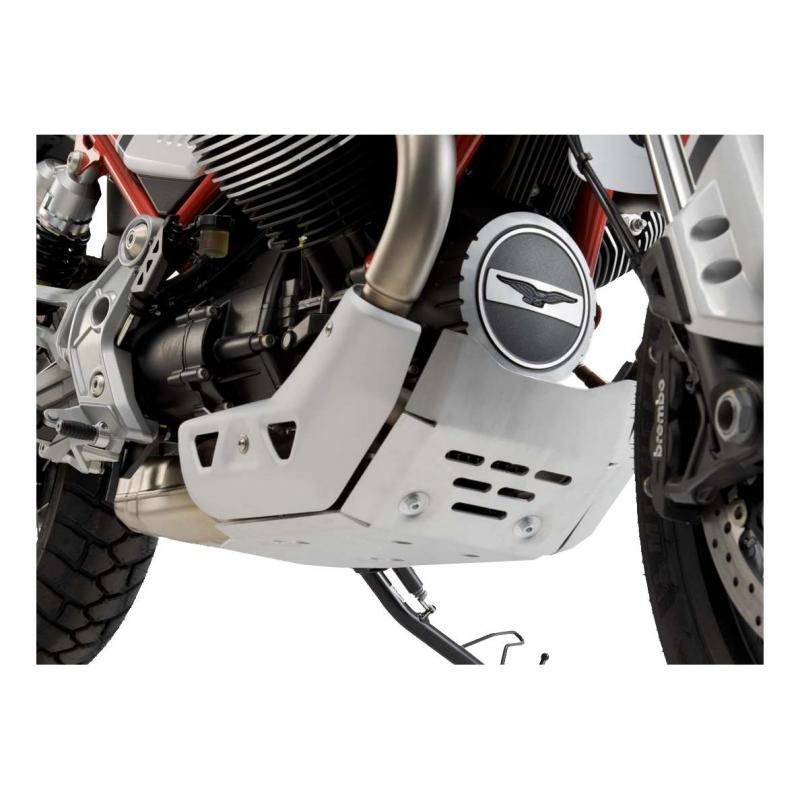 Sabot moteur SW-Motech alu Moto Guzzi V85 TT 19-20 - 3