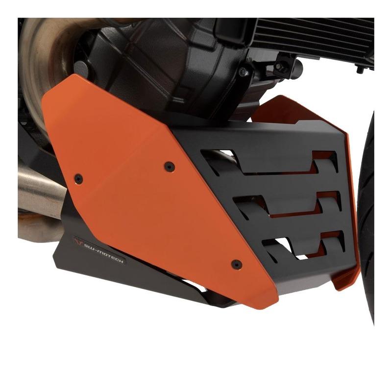 Sabot moteur SW-Motech orange KTM 1290 Super Duke 19-20